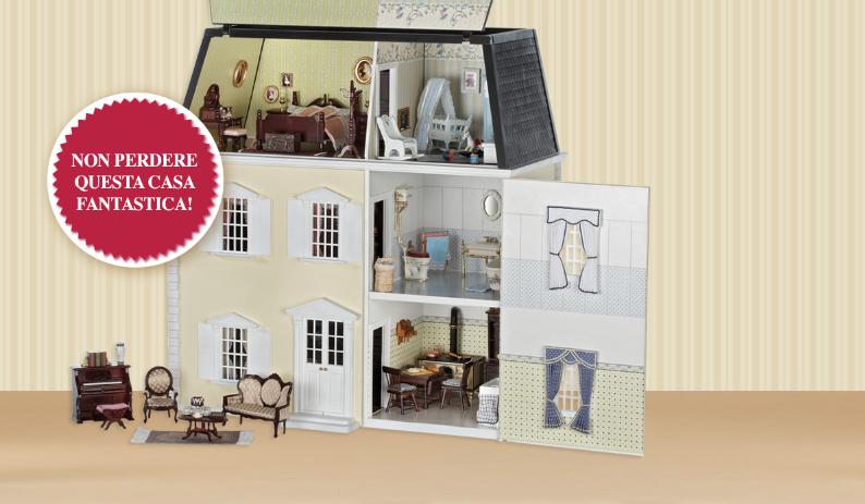 casa delle bambole in edicola vecchie